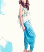 Sanam Chaudhri Summer Dresses 2014 for Women007