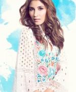 Sanam Chaudhri Summer Dresses 2014 for Women008