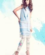 Sanam Chaudhri Summer Dresses 2014 for Women009