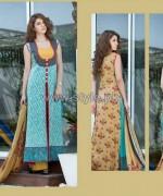 Sania Zara Designer Collection 2014 by ZS Textiles 2