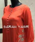 Sarah Yasir Summer Dresses 2014 For Women 005