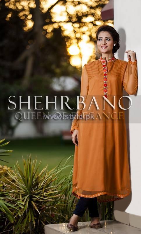 Shehrbano Summer Dresses 2014 For Girls 3