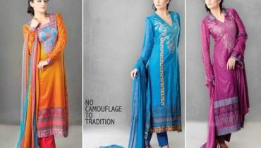 Sitara Textiles Jhilmil Lawn Dresses 2014 For Women 009