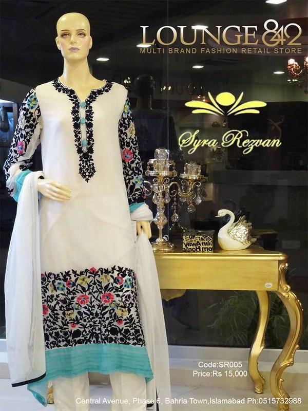 Syra Rezwan Spring Dresses 2014 For Women 0010