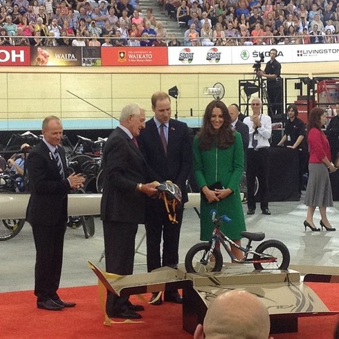 Bicycle For Little Prince George