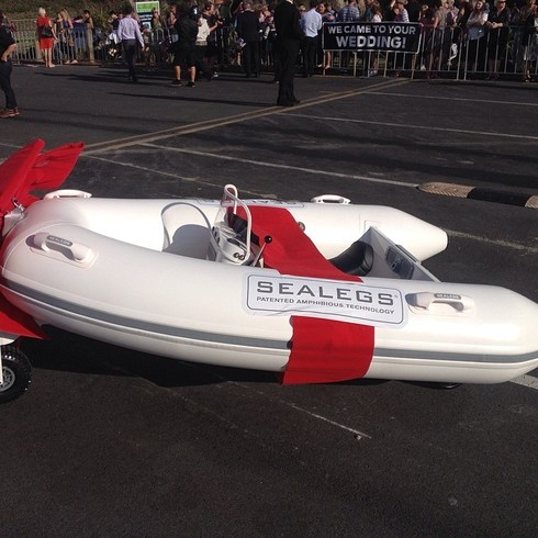 Sealegs Amphibious Craft For Baby Prince George