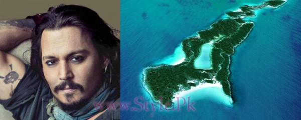 Top 5 Celebrities Who Have Owned Islands-Johnny Depp