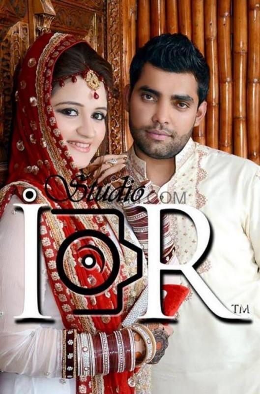 Umar Akmal With Wife Amna Noor