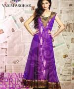 Vasim Asghar Summer Dresses 2014 For Women 004