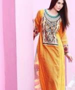 Zahra Ahmad Lawn Dresses 2014 for Women001