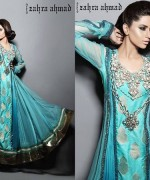 Zahra Ahmad Summer Dresses 2014 For Women 0012