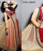 Zahra Ahmad Summer Dresses 2014 For Women 0013