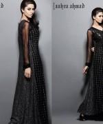 Zahra Ahmad Summer Dresses 2014 For Women 002