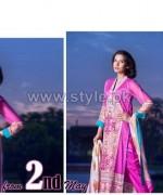 ZebAyesha Premium Lawn Dresses 2014 by Al-Zohaib Textile 1
