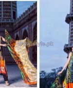 ZebAyesha Premium Lawn Dresses 2014 by Al-Zohaib Textile 2