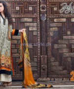 ZebAyesha Premium Lawn Dresses 2014 by Al-Zohaib Textile 3