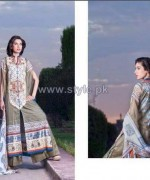 ZebAyesha Premium Lawn Dresses 2014 by Al-Zohaib Textile 5