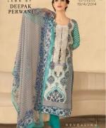 Zeniya Lawn Dresses 2014 by Deepak Perwani 3