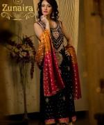 Zunaira Lounge Formal Dresses 2014 For Women 002