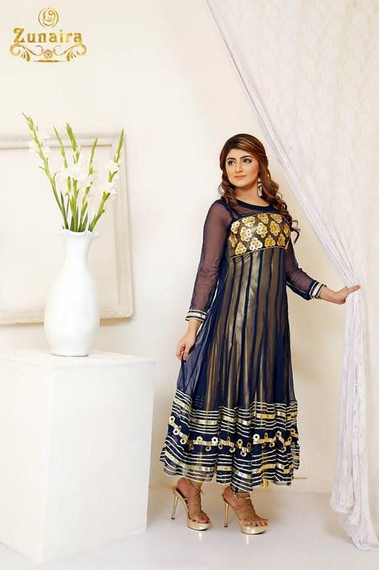 Zunaira Lounge Formal Dresses 2014 For Women0004