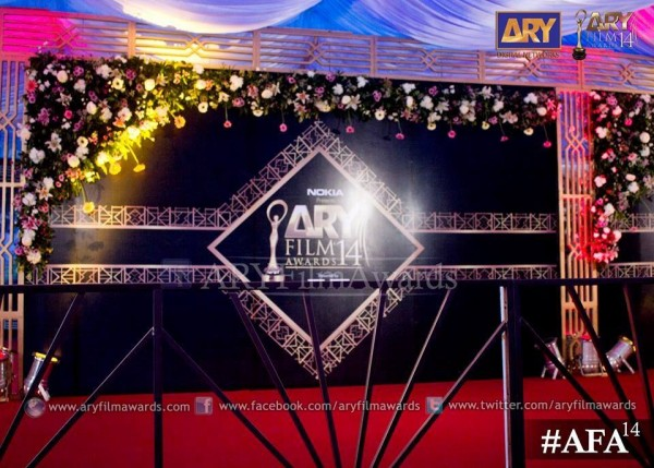 red carpet of ARY Film Awards