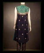 Abrishm By Fauzia Bokhari Formal Dresses 2014 For Women 001