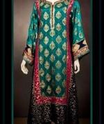 Abrishm By Fauzia Bokhari Formal Dresses 2014 For Women 002