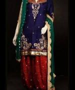 Abrishm By Fauzia Bokhari Formal Dresses 2014 For Women 007