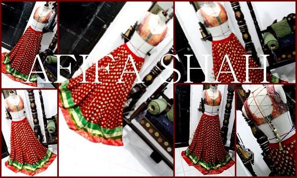 Afifa Shah Summer Dresses 2014 For Women 001