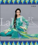 Afreen Lawn 2014 by Lala for Women007