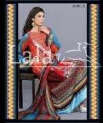 Afreen Lawn 2014 by Lala for Women009