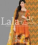 Afreen Lawn 2014 by Lala for Women013