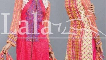Afreen Lawn 2014 by Lala for Women