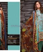 Al-Hamra Fabrics Lawn Prints 2014 For Women 10