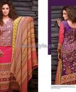 Al-Hamra Fabrics Lawn Prints 2014 For Women 7