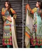 Al-Hamra Fabrics Lawn Prints 2014 For Women 8