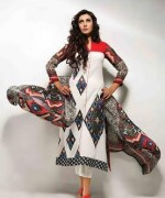 Amna Ismail Lawn 2014 Volume 3 for Women012
