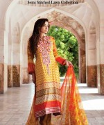 Amna Ismail Lawn 2014 Volume 3 for Women015