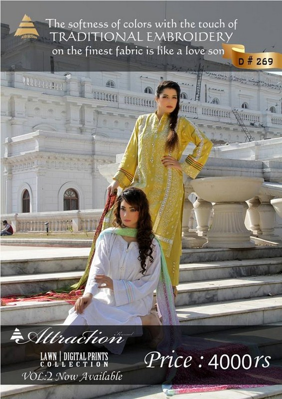Attraction By Kamal Summer Dresses 2014 Volume 2 For Women 001