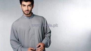 Bonanza Garments Kurta Shalwar Designs 2014 For Men 7