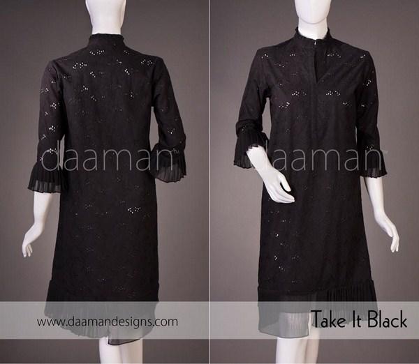 Daaman Casual Dresses 2014 For Women