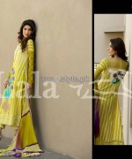 Dahlia Lawn Dresses 2014 By Lala Textiles 2
