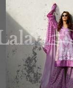 Dahlia Lawn Dresses 2014 By Lala Textiles 3