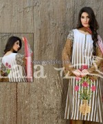 Dahlia Lawn Dresses 2014 By Lala Textiles 4