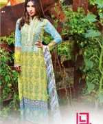 Dawood Textiles Liali Embroidered Lawn Dresses 2014 Volume 2 For Women 0010