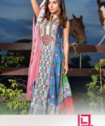 Dawood Textiles Liali Embroidered Lawn Dresses 2014 Volume 2 For Women 0011
