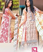 Dawood Textiles Liali Embroidered Lawn Dresses 2014 Volume 2 For Women 0013