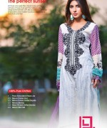 Dawood Textiles Liali Embroidered Lawn Dresses 2014 Volume 2 For Women 0014