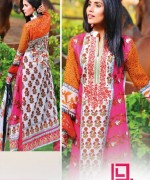 Dawood Textiles Liali Embroidered Lawn Dresses 2014 Volume 2 For Women 002