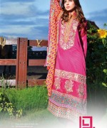 Dawood Textiles Liali Embroidered Lawn Dresses 2014 Volume 2 For Women 008